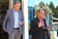 Pastor Wolff und Ortsbürgermeister Grahmann