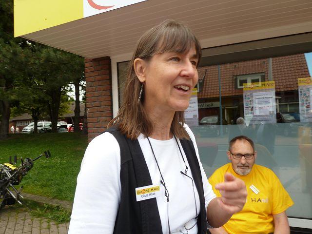 Koordinatorin Clivia Haese
